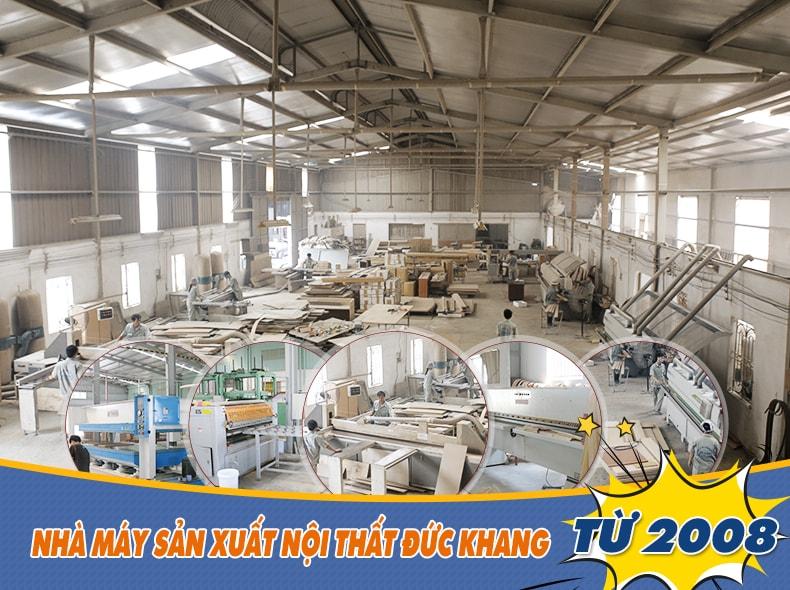 Nhà máy sản xuất nội thất Đức Khang