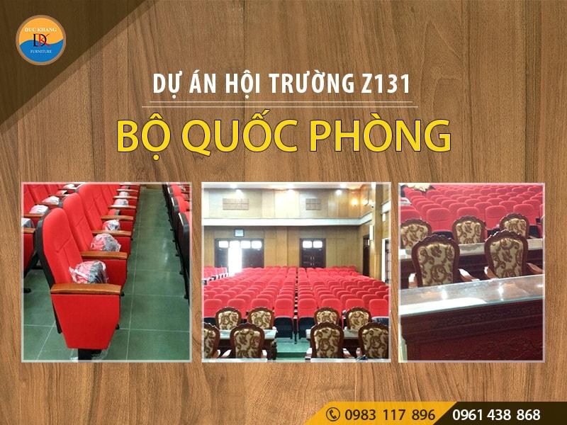 Dự án hội trường Z131 sông Công Thái Nguyên