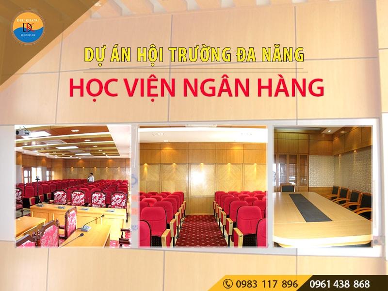 Hội trường bảo vệ Luận án Tiến Sỹ Học viện Ngân hàng, Hà Nội