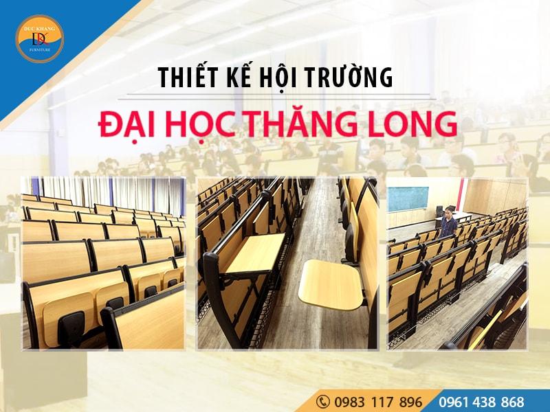 Hội trường Đại học Thăng Long đường Nguyễn Xiển, Hà Nội
