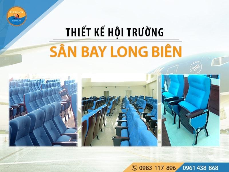 Thiết Kế Nội Thất Hội Trường Sân Bay Long Biên