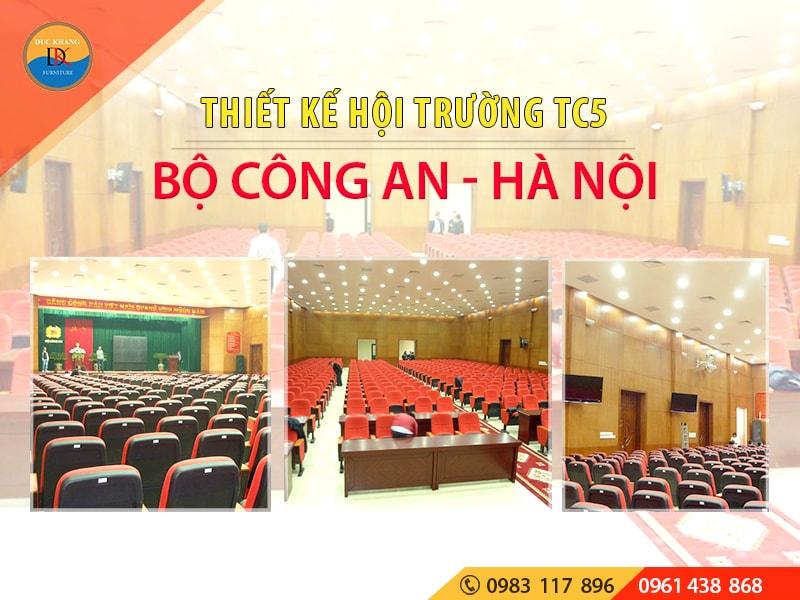 Hội Trường TC5 Bộ Công An đường Nguyễn Văn Huyên, Hà Nội