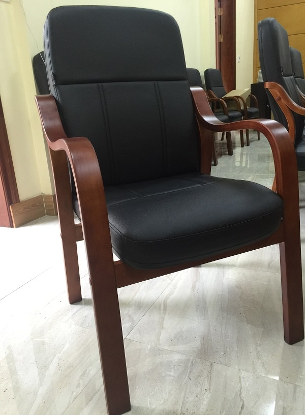 Cận cảnh mẫu ghế được sử dụng trong hội trường Sở GTVT tỉnh Thanh Hóa
