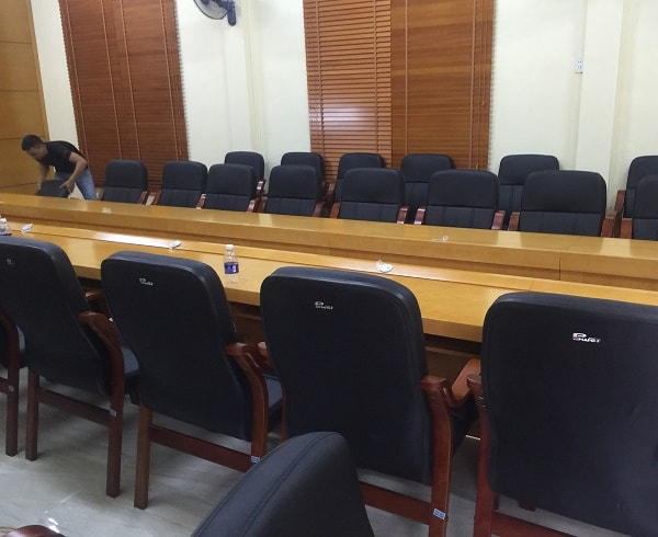 Phòng họp Sở GTVT tỉnh Thanh Hóa sau khi hoàn thành