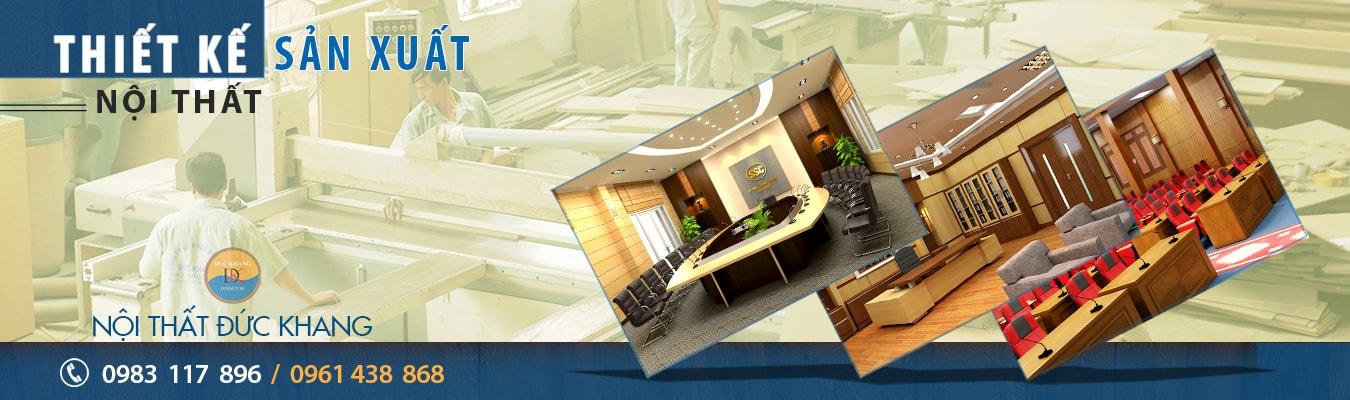 Thiết kế sản xuất nội thất Đức Khang