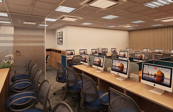 Văn phòng công ty EFY là sự kết hợp hoàn hảo giữa các đồ nội thất