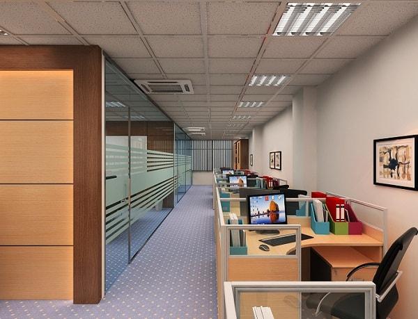 Không gian làm việc dành cho nhân viên