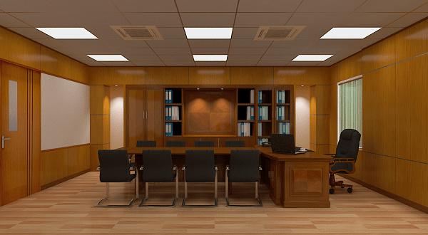 Không gian phòng chủ tịch