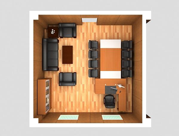 Không gian phòng giám đốc