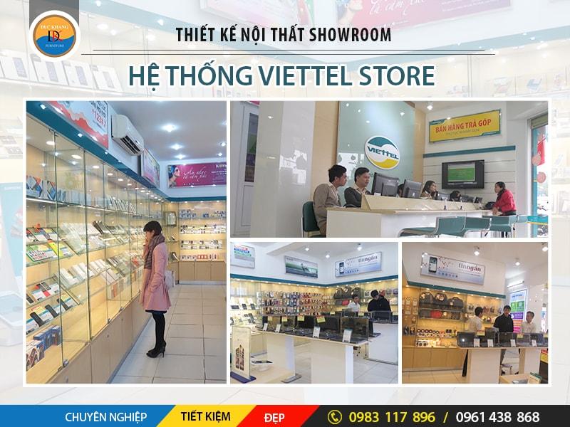 Thiết Kế Nội Thất Showroom Viettel Store