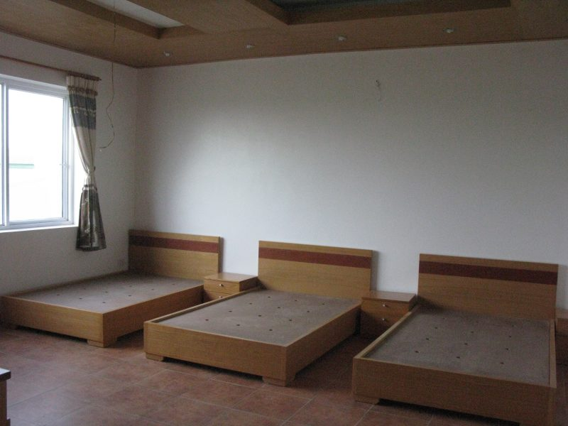 Phòng ngủ được bố trí thêm giường ngủ