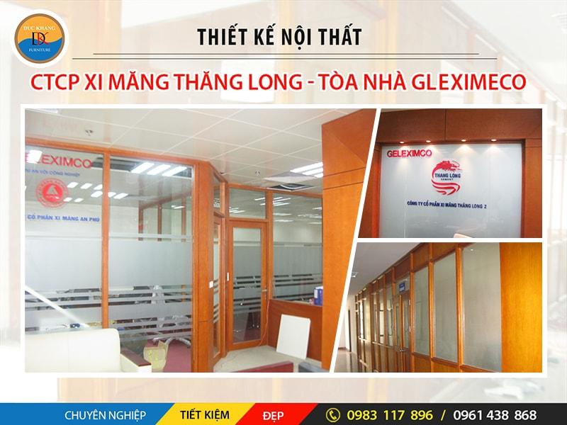 Thiết Kế Nội Thất Văn Phòng Công Ty Xi Măng Thăng Long
