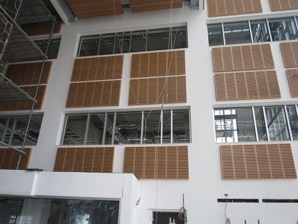Không gian sảnh tòa nhà sau khi hoàn thành