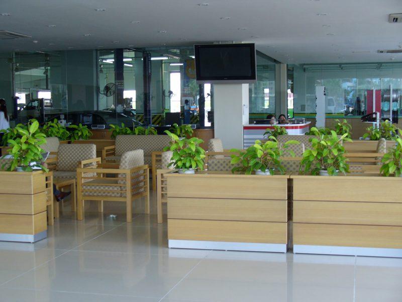 Khu nghỉ ngơi dành cho nhân viên và khách hàng
