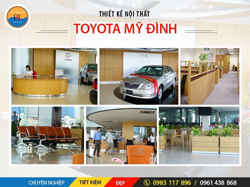 Thiết Kế Văn Phòng Tòa Tháp Toyota Mỹ Đình Tại Hà Nội
