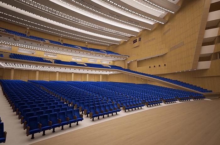 Lựa chọn và sắp xếp nội thất cho hội trường 600 chỗ ngồi