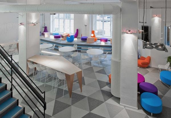 Thiết kế văn phòng theo xu hướng không gian đa năng