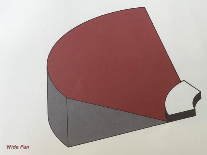 Thiết kế nội thất hội trường 1000 chỗ ngồi theo kiểu cánh quạt