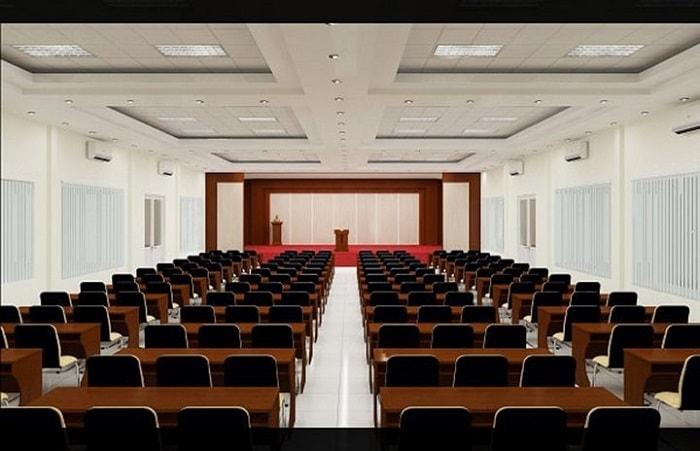 Thiết Kế Nội Thất Hội Trường 200 Chỗ Nên Chọn Ghế Như Thế Nào?