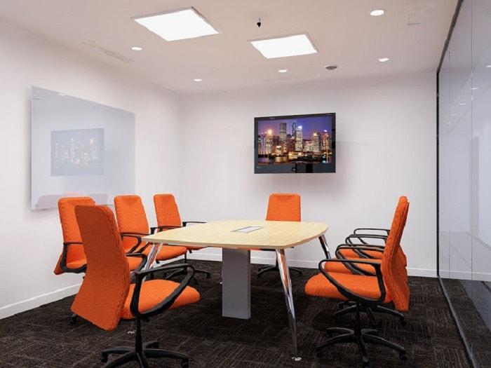 Cần lựa chọn màu sắc chủ đạo cho thiết kế nội thất phòng họp