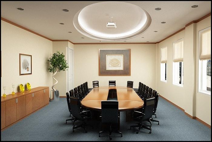 Cần lựa chọn bàn họp phù hợp với không gian phòng