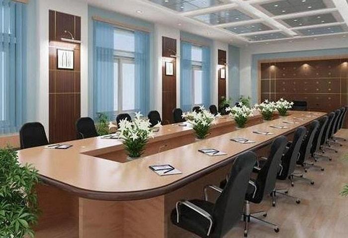 Thiết kế phòng họp cần lưu ý tận dụng ánh sáng tự nhiên