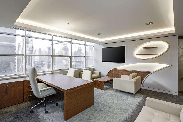 Phòng làm việc cho giám đốc cần không gian thoáng đãng
