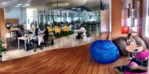Phòng làm việc lý tưởng có đầy đủ tiện nghi