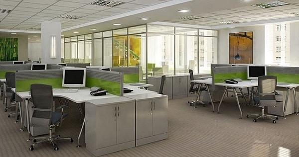 Không gian làm việc đủ đảm bảo sự riêng tư cho nhân viên