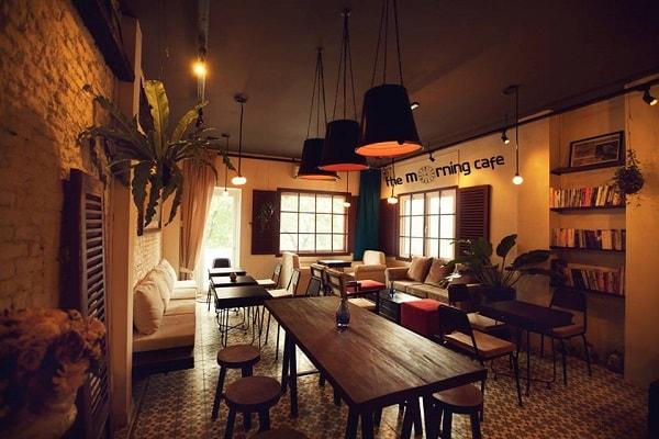 Không gian làm việc như một quán cafe cổ điển giúp nhân viên vừa thư giãn vừa sáng tạo