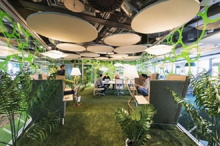 Văn phòng phong cách độc đáo tạo sự thoải mái tối đa cho nhân viên