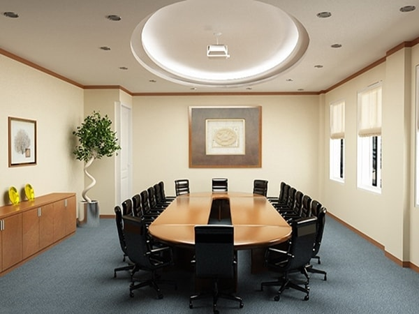 Setup phòng họp kiểu Conference