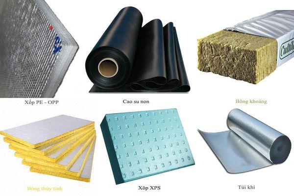 Những vật liệu được dùng trong cách âm hội trường