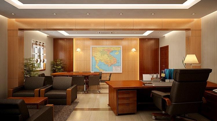 Cách lựa chọn nội thất phòng giám đốc theo không gian