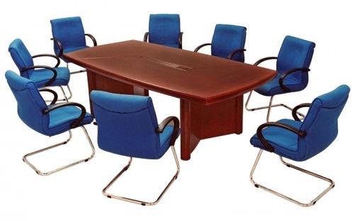 Lựa chọn bàn phòng họp theo kiểu dáng, kích thước, màu sắc