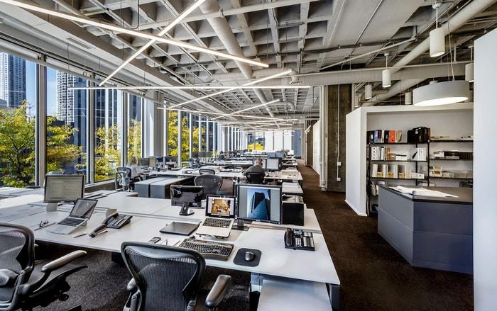 Mẫu Thiết Kế Văn Phòng Công Ty Kiến Trúc GREC Tại Chicago