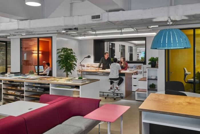 Mẫu Thiết Kế Văn Phòng Kiến Trúc M Moser Associates Tại Hồng Kông