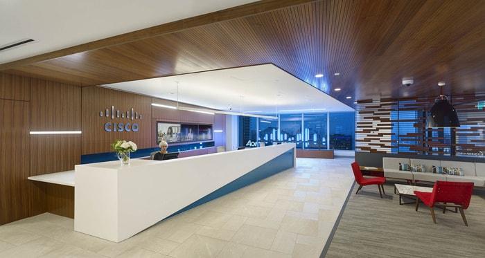 Tham Quan Thiết Kế Nội Thất Văn Phòng Công Ty Cisco Tại Toronto