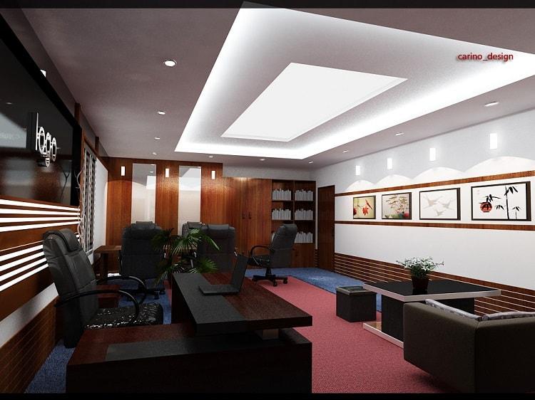 Thiết kế nội thất phòng giám đốc tuổi Nhâm Tuất 1982 theo phong thủy