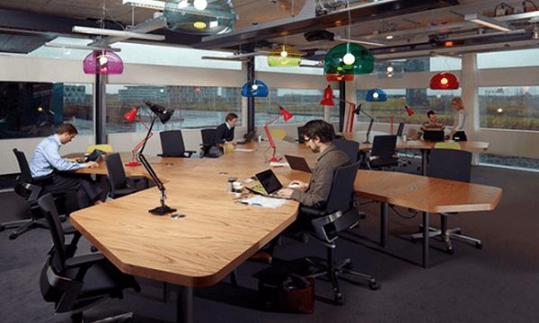 Thiết kế văn phòng xu hướng mở