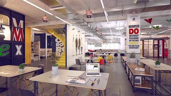 Thiết kế nội thất văn phòng theo Co-working