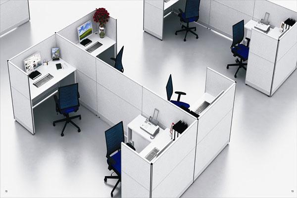 Không gian độc lập giúp nhân viên có thể tập trung cao độ cho công việc