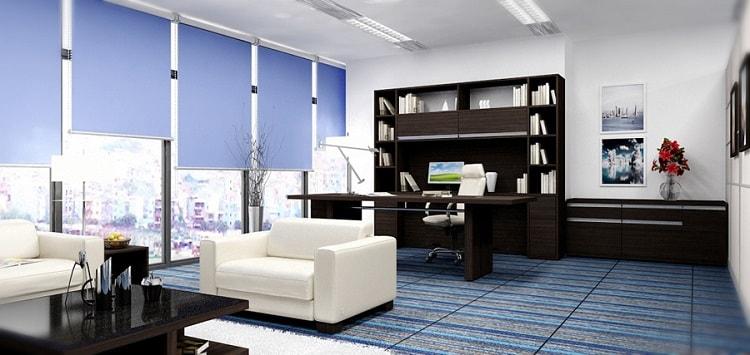 Phòng giám đốc cần có không gian thoáng đãng