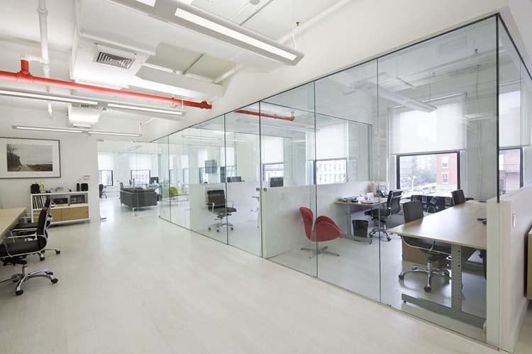 Thiết kế văn phòng không gian khép kín
