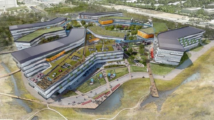 Khuôn viên dự án Bay View của Google