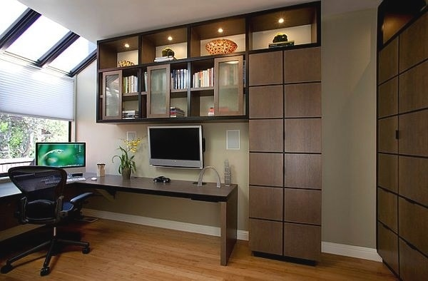 Nội thất thiết kế đơn giản, tiện ích là lựa chọn thông minh cho không gian làm việc tại nhà
