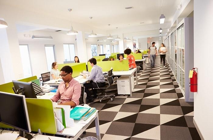 Xu hướng văn phòng mở được rất nhiều công ty lựa chọn