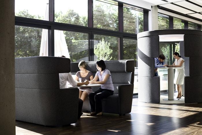 Nhân viên vẫn có thể khám phá ra những không gian riêng tư cho mình