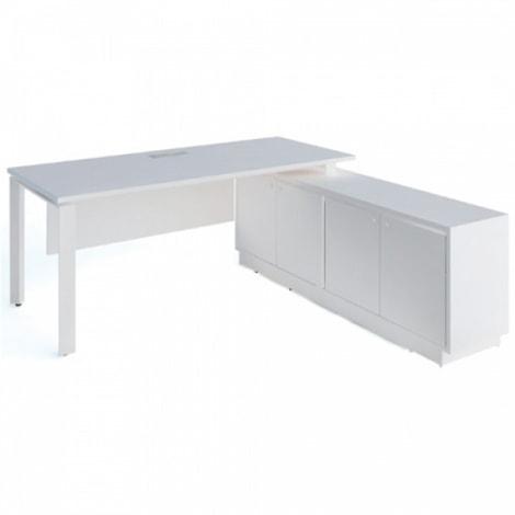 Sản phẩm bàn giám đốc màu trắng