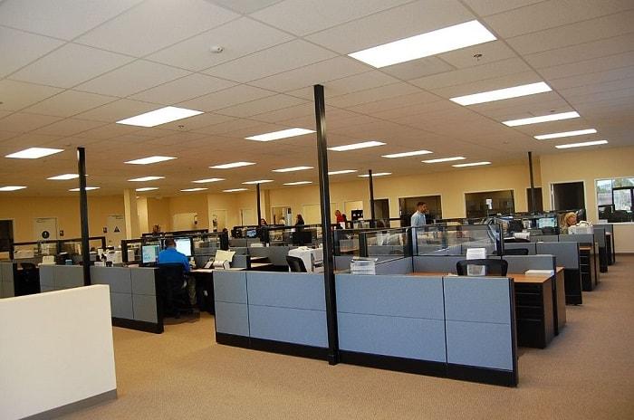 Kiểu thiết kế văn phòng tập trung